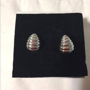 John Hardy Bedeg Sterling Silver Hoop Earrings
